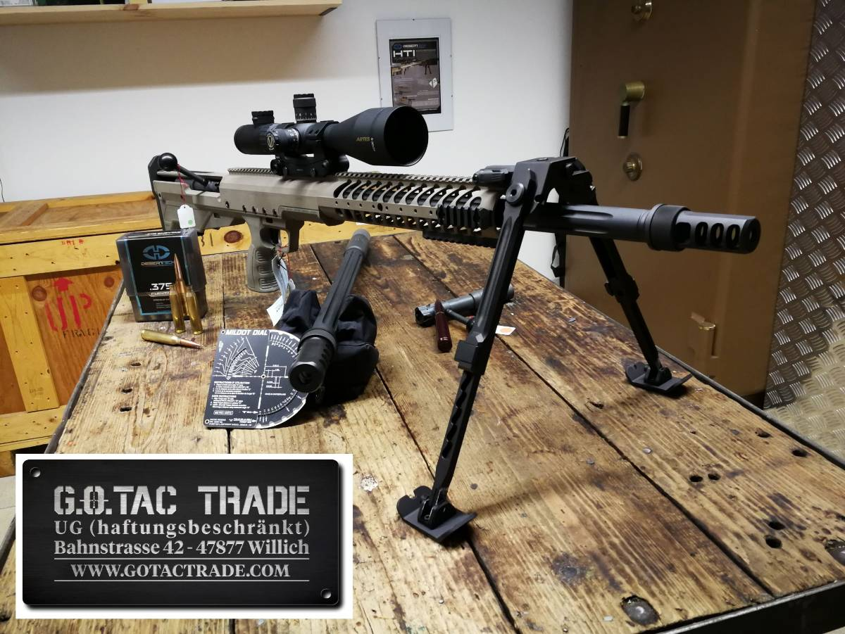 DESERT TECH HTI 375CT mit 50BMG conversion kit